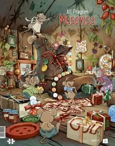 Bilde av Musevisa puslespill